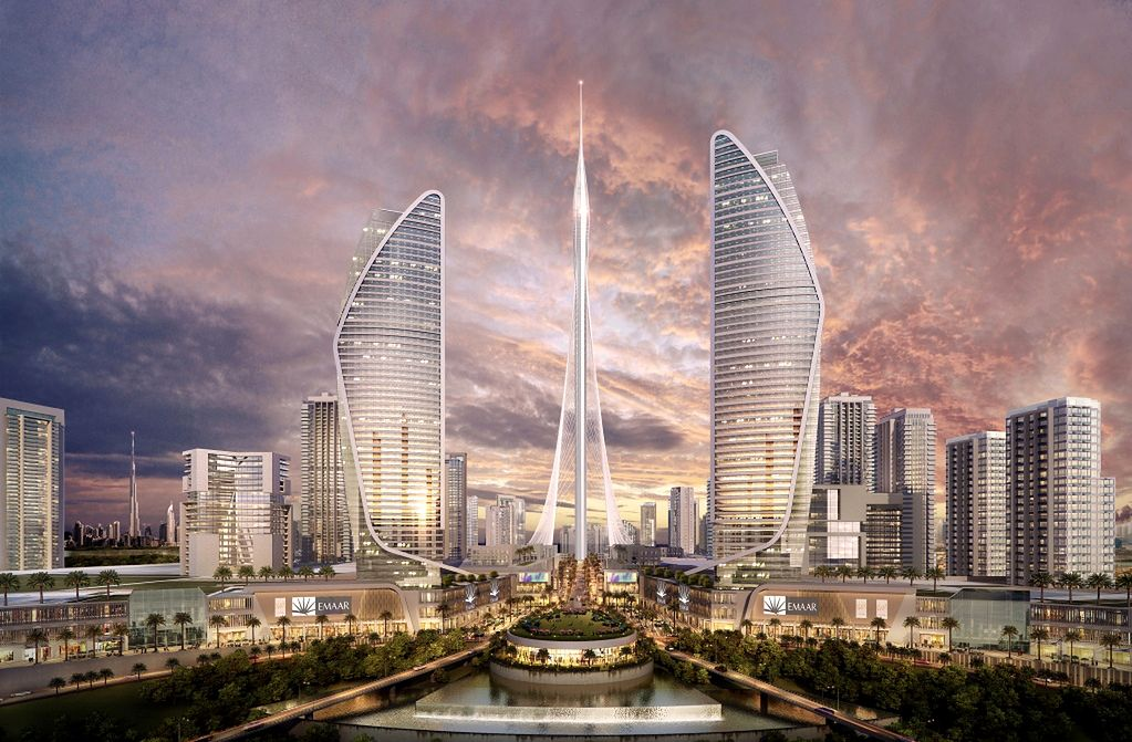 Trwa budowa wieżowców wyższych od Burdż Chalify