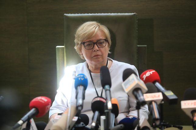 Małgorzata Gersdorf podkreśla, że 6-letnią kadencję gwarantuje jej konstytucja