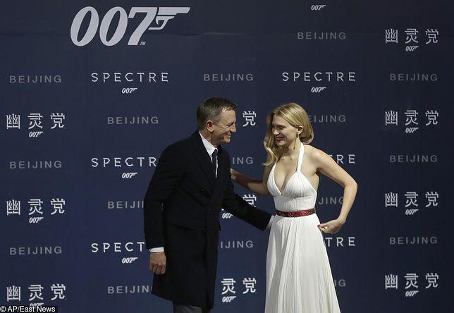"""Lea Seydoux zagrała już dziewczynę Bonda w """"Spectre"""" w 2015 roku. Teraz ponownie pojawi się w kolejnym filmie o agencie 007"""