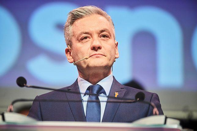 Robert Biedroń, szef Wiosny