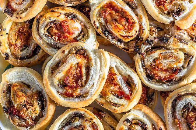Francuskie ślimaczki z pieczarkami
