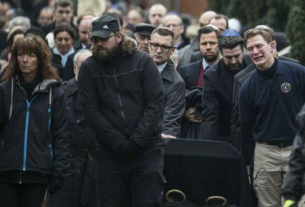 Pogrzeb 37-latka, który zginął w ataku na synagogę w Kopenhadze