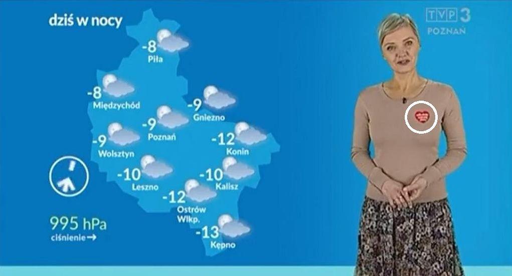 Patrycja Kasperczak prezentowała pogodę w TVP Poznań