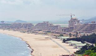 Korea Północna chce przyciągnąć turystów. W kraju Kima powstaje nadmorski kurort
