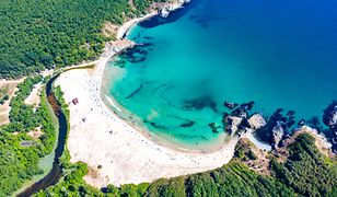 Plaża Silister na południowym krańcu Bułgarii