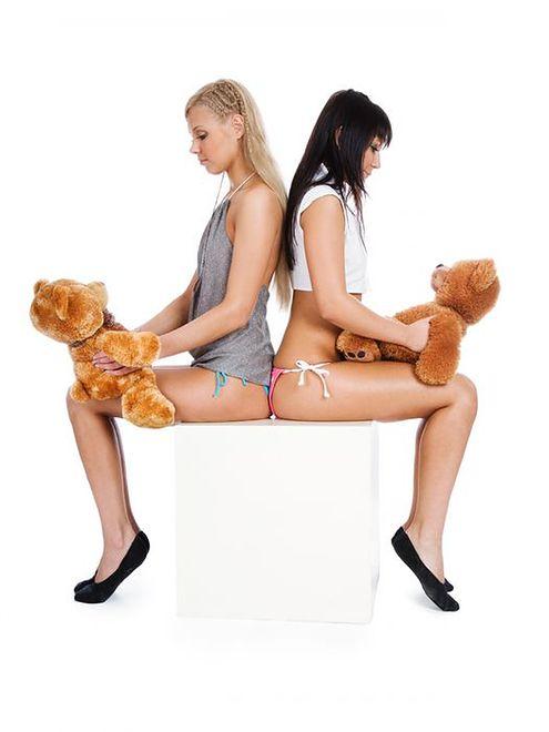 Kobiety kochają pluszaki!