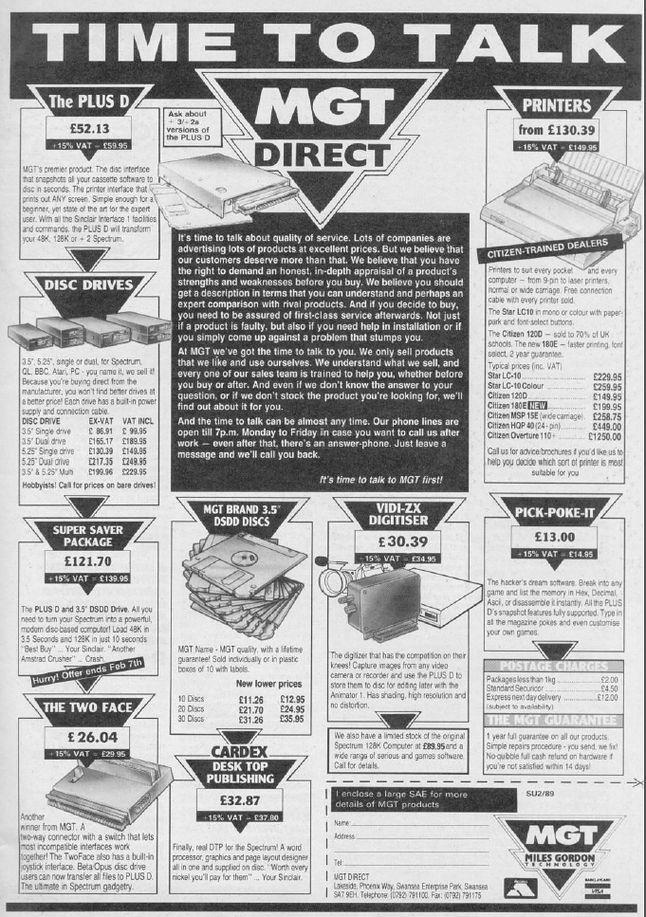 Oferta MGT z 1989 roku