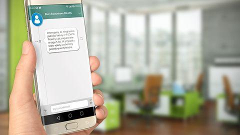InsERT nexo z możliwością wysyłania powiadomień SMS do klientów