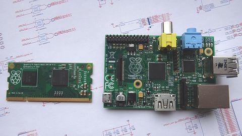 Nowy format Maliny: Compute Module, czyli Raspberry Pi o rozmiarach kostki SO-DIMM