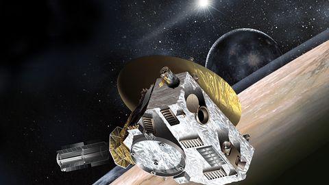 Sonda New Horizons dziś prześle pierwsze zdjęcia Plutona