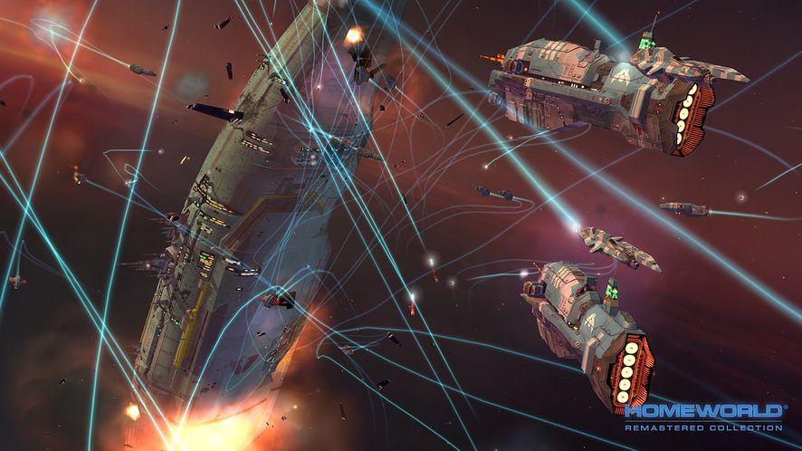 Odnowiony Homeworld i inne gry za co łaska