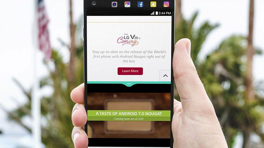 LG V20 oficjalnie: dwa ekrany, trzy kamery i świetna jakość zdjęć i dźwięku
