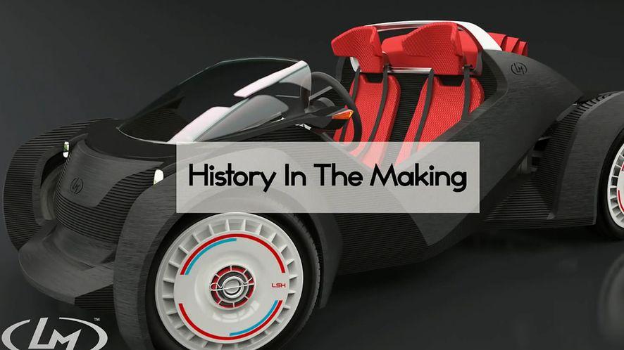 W przyszłym roku będziemy mogli drukować samochody