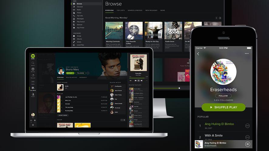Spotify: skanowanie kodów nową metodą dzielenia się muzyką