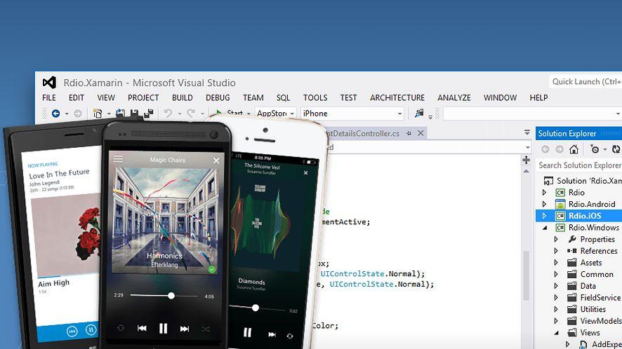 Visual Studio ułatwi tworzenie aplikacji pod iOS i Androida