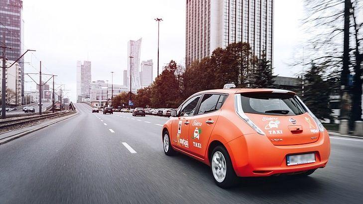 Elektryczne taksówki myTaxi pojawiły się w Warszawie, jest tanio i ekologicznie