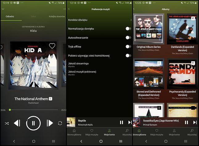 Funkcjonalność aplikacji Empik Music jest podobna do konkurencji, fot. Jakub Krawczyński