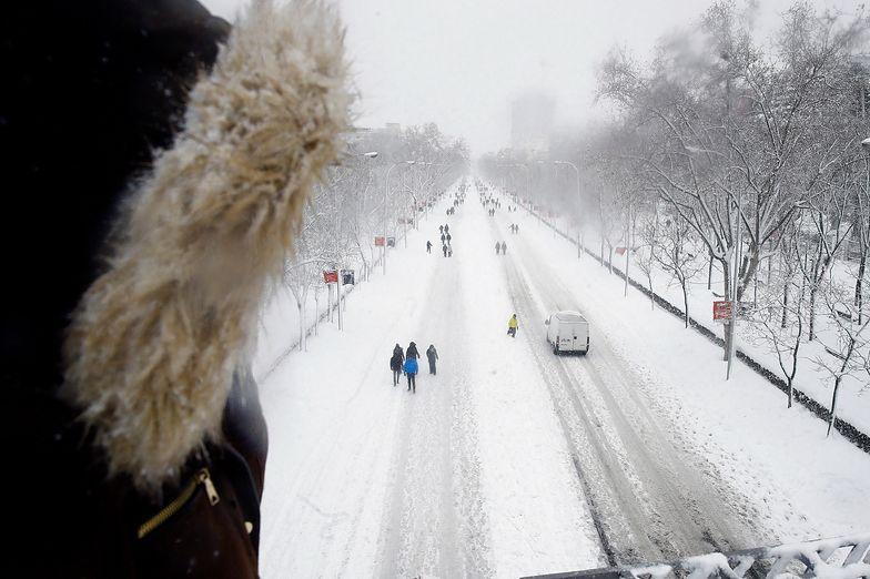 Potężny atak zimy! Natura pokazała swoją przerażającą moc