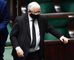 Jarosław Kaczyński opuścił obrady. Doszło do ostrej wymiany zdań