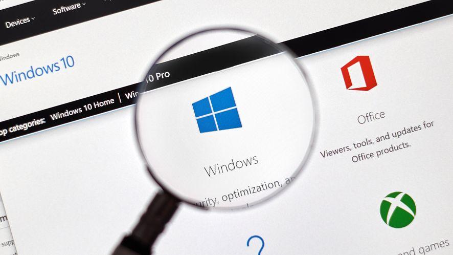 Microsoft Windows 10 z depositphotos