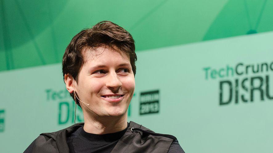 Paweł Durow. fot. TechCrunch na licencji CC BY 2.0