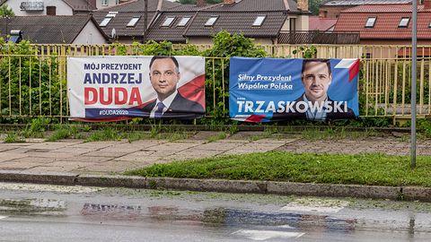 Andrzej Duda reklamuje się na nazwisko Trzaskowski, czyli Google AdSense w formie