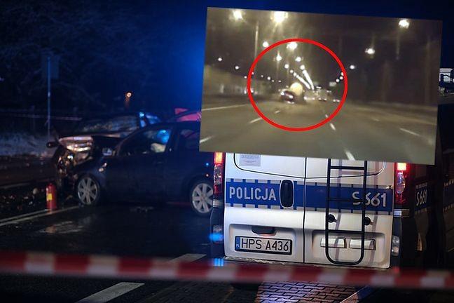 Warszawa. Wypadek na S8. Potężne zderzenie