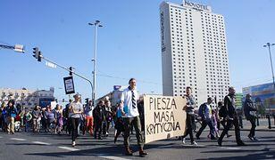 W sobotę na warszawskim Mokotowie po raz kolejny spotkają się uczestnicy Pieszej Masy Krytycznej. Manifestacja ma zwrócić uwagę na problemy niezmotoryzowanych