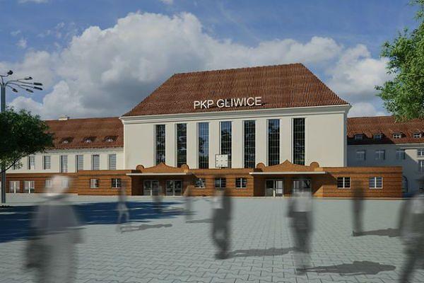 Dworzec w Gliwicach zostanie zmodernizowany. Wiemy jak będzie wyglądać!