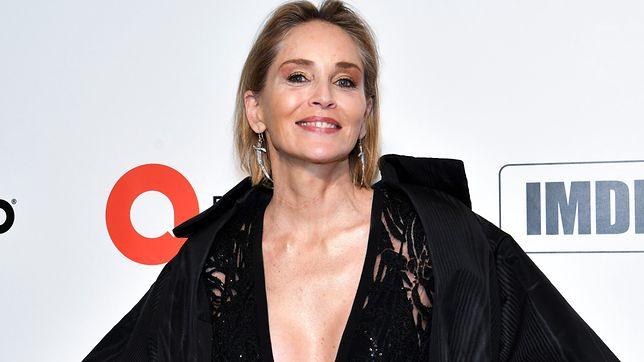 Sharon Stone zachwyca sylwetką. 62-letnia gwiazda ekranu pozuje w bikini