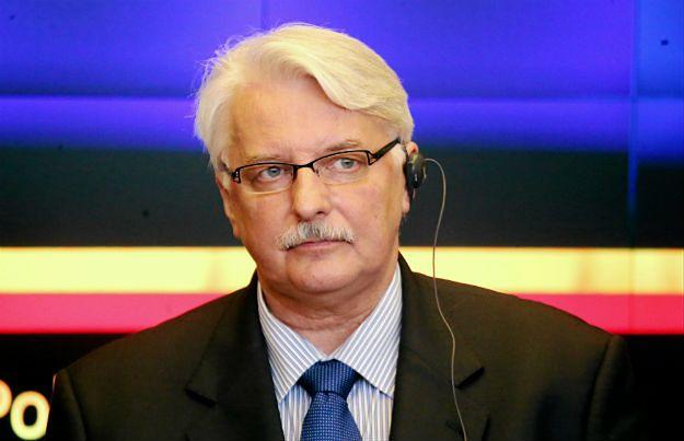 Witold Waszczykowski ostrzega przed efektem domina po Brexicie