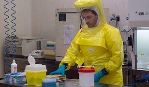 Koronawirus w Polsce? Kobieta z podejrzeniem choroby w Bielsku-Białej (zdj. z laboratorium w Mediolanie)