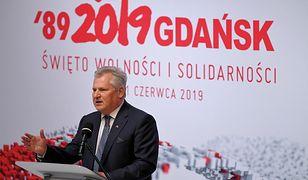 Gdańsk. Obchody 4 czerwca. Aleksander Kwaśniewski apelował o powrót do prawdziwej demokracji