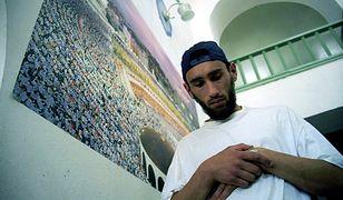 Tatar krymski w meczecie w Symferopolu