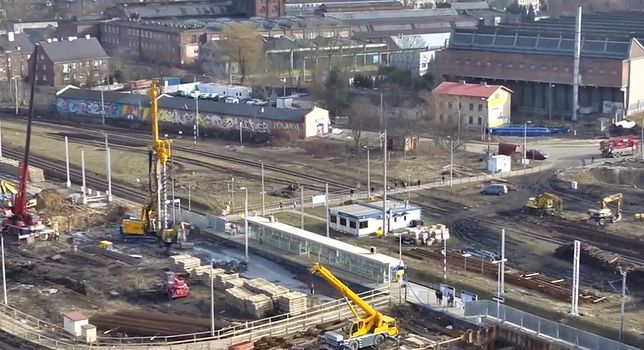Dąbrowa Górnicza. Z powodu budowy centrum przesiadkowego autobusy jadą objazdami.
