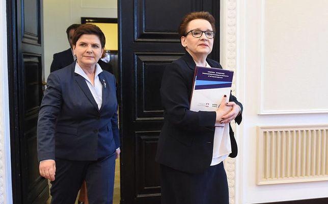 Była minister edukacji w rządzie PiS Anna Zalewska