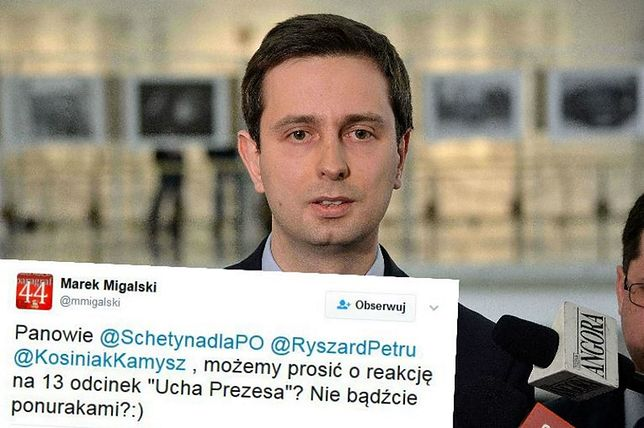 """Migalski zaczepił polityków opozycji ws. """"Ucha prezesa"""". Tym wpisem lider PSL zdobył uznanie internautów"""