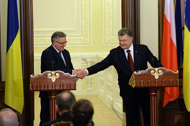 Bronisław Komorowski: Polska nie uchylałaby się od udziału w operacji pokojowej na Ukrainie