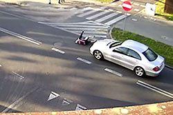 #dziejesiewmoto [112]: bezmyślny rowerzysta, TIR-holownik i wpadka mistrza