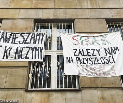 Strajk nauczycieli 2019. Został zawieszony, ale nieoficjalnie trwa w innej formie