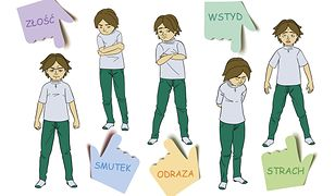 Tymon i emocje. Historyjki społeczne o tym, jak się zachować w różnych sytuacjach życia codziennego