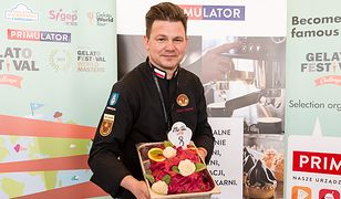 Daniel Żurkowski wymyślił 240 smaków lodów