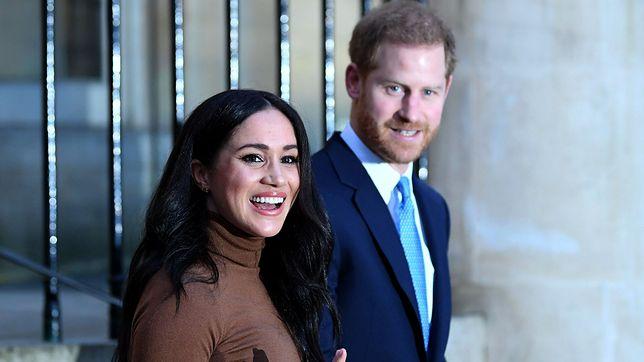 Meghan i Harry szybko zaczęli myśleć o wyprowadzce z Wielkiej Brytanii (fot. Getty)