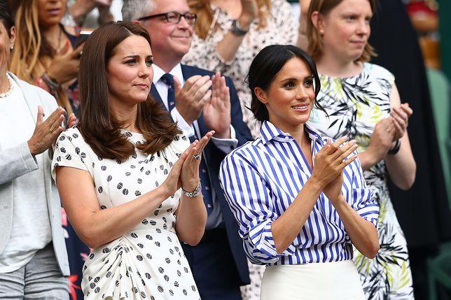 Fanki zwariowały na punkcie kreacji Kate i Meghan z Wimbledonu. Stylizacje w mig się wyprzedały