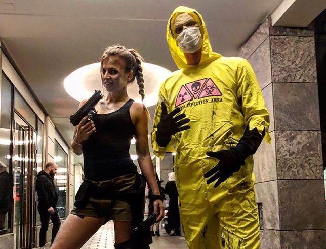 Lewandowscy świętują Halloween. Ich kostiumy nie powalają
