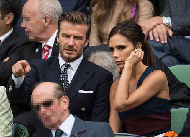 David Beckham wraz z żoną Victorią