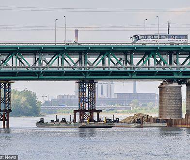 Zwłoki znaleziono przy moście Gdańskim