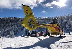 Pilsko. Tragiczny wypadek na nartach. Mężczyzna uderzył w drzewo