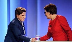 Debata Beaty Szydło i Ewy Kopacz. Dziennikarz nie jest od orzekania wyroków, oceny czy cenzurowania, kto może, a kto nie może się wypowiadać, a od tego, by zadawać pytania i wskazywać nieścisłości.