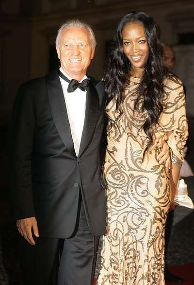 Naomi Campbell i Santo Versace